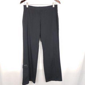 Columbia Black Elastic Sweatpants with Leg Pocket